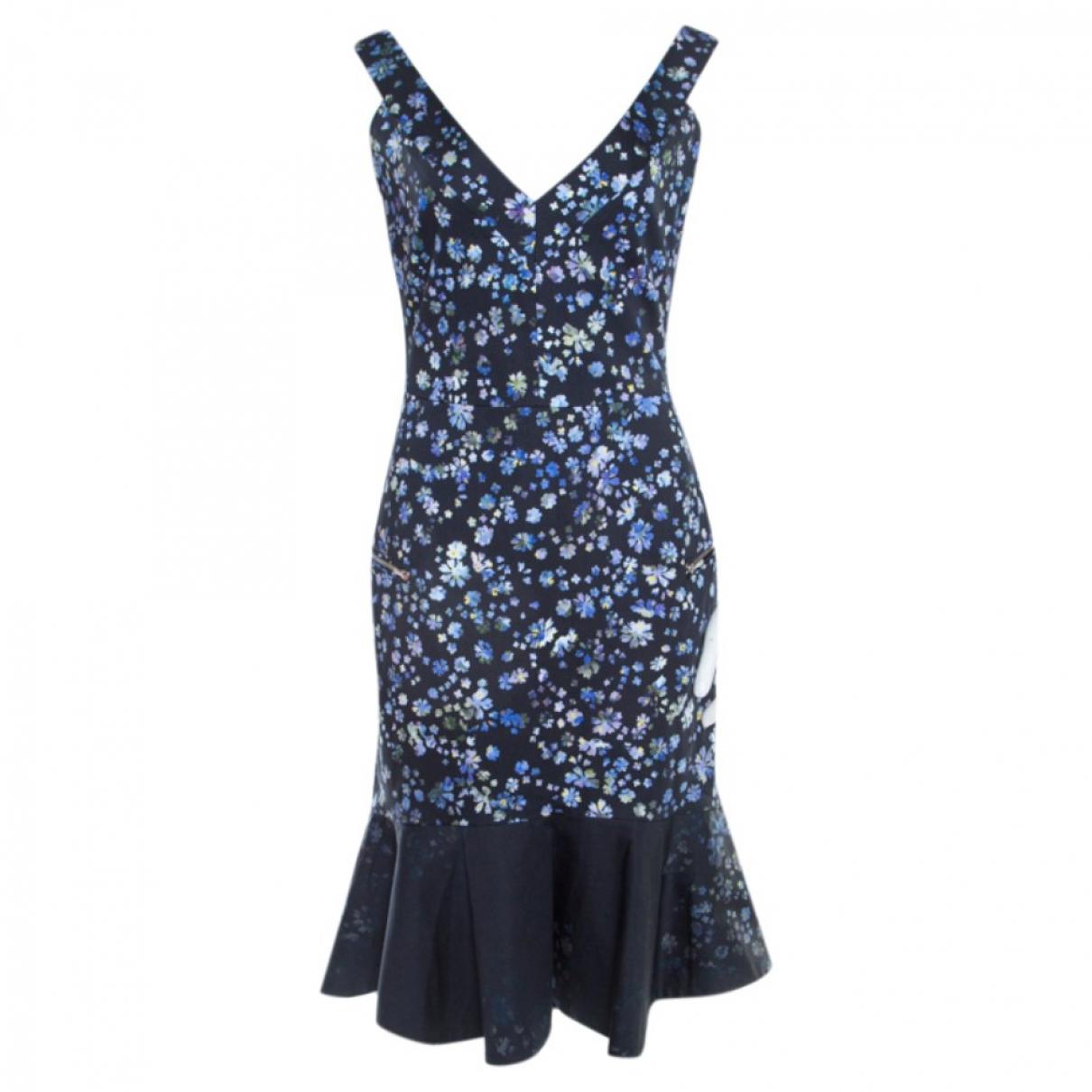 Preen By Thornton Bregazzi \N Blue Cotton dress for Women S International