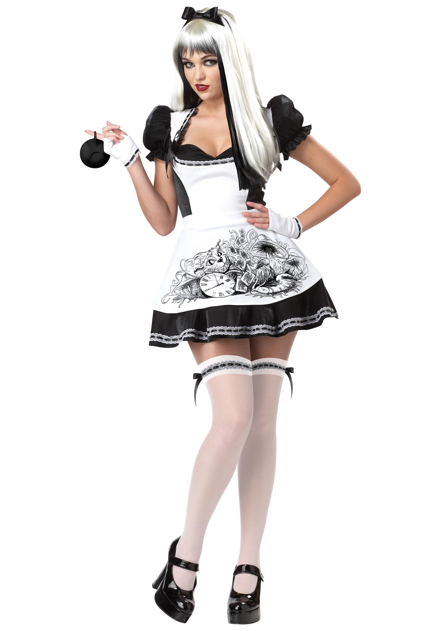 Sexy Dark Alice Costume