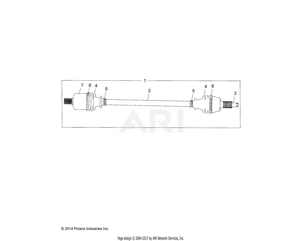 Polaris OEM 1333404 ASM., CV