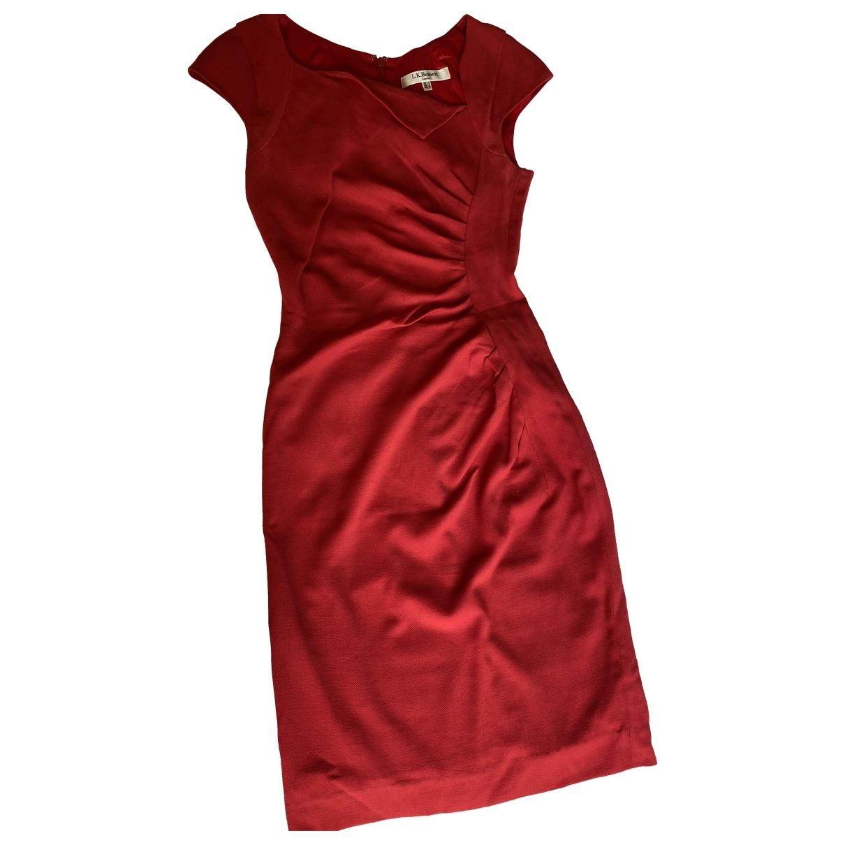 Lk Bennett \N Red Wool dress for Women 6 UK