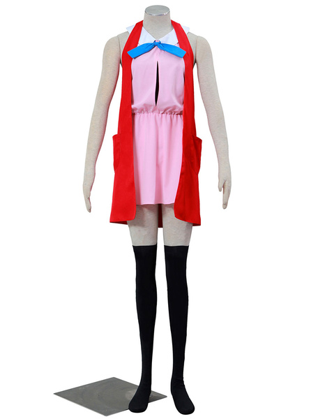 Milanoo Pocket Monster XY Pokémon XY Serena Cosplay Costume Halloween