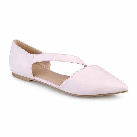 Journee Collection Womens Landry Ballet Flats, 8 Medium, Pink