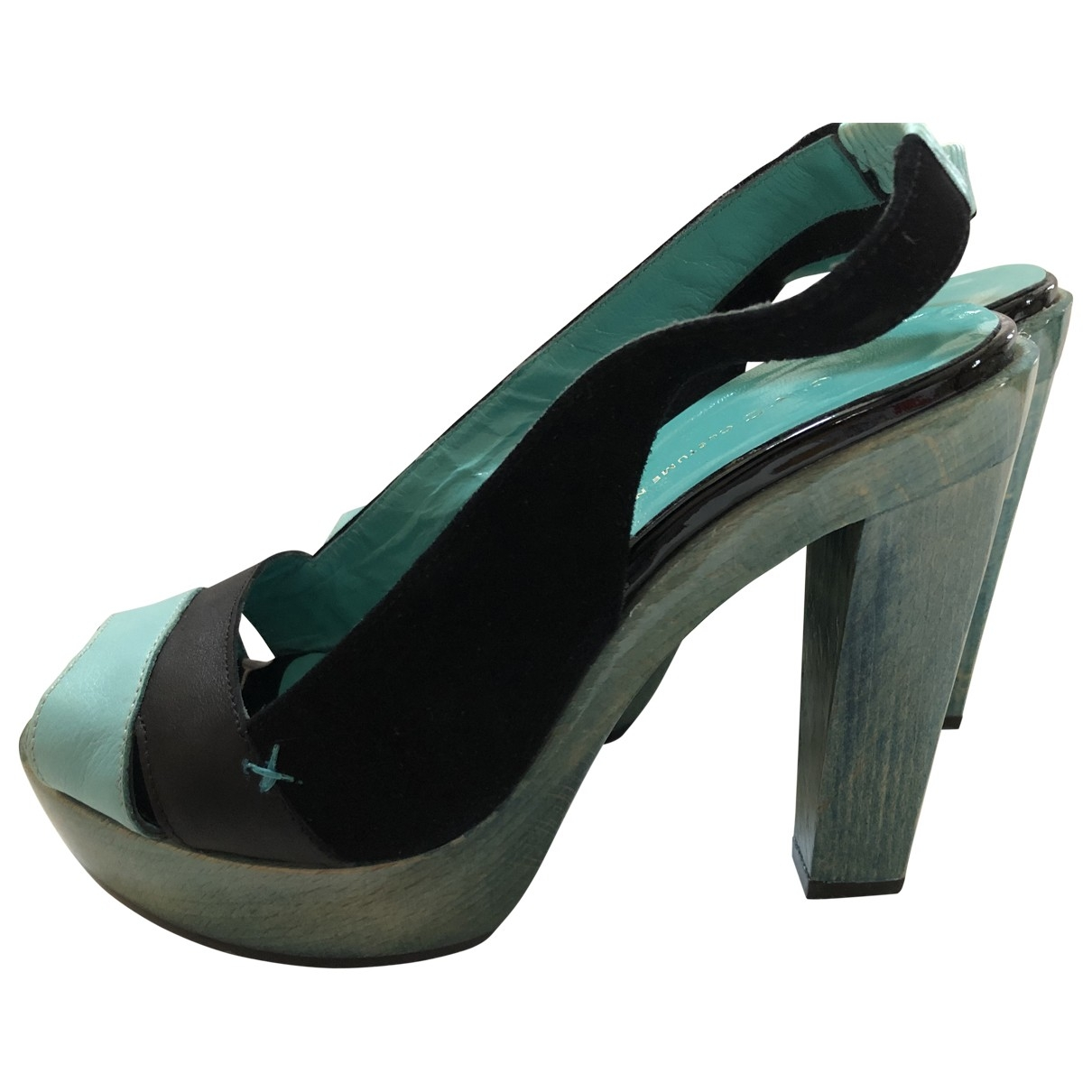 Costume National \N Multicolour Leather Heels for Women 36 EU