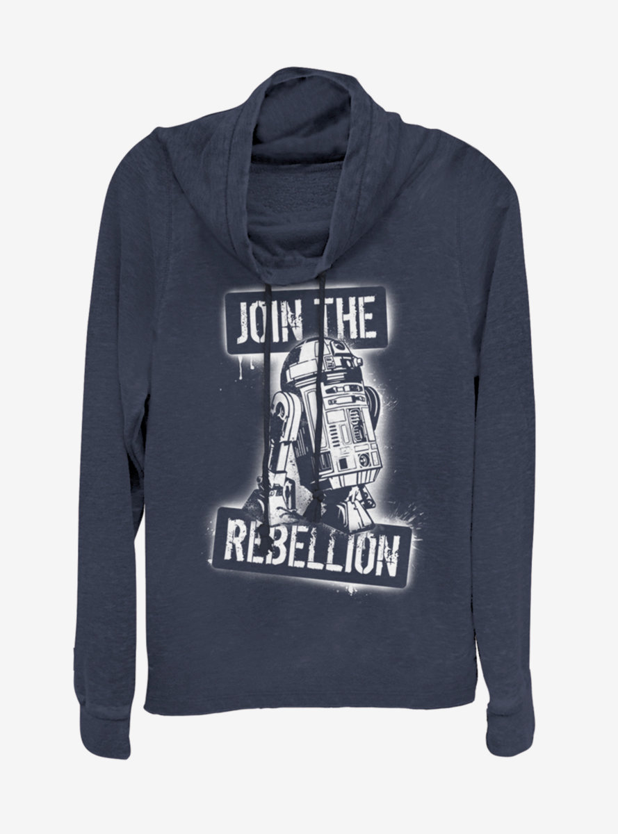 Star Wars Join the Rebels Cowlneck Long-Sleeve Womens Top