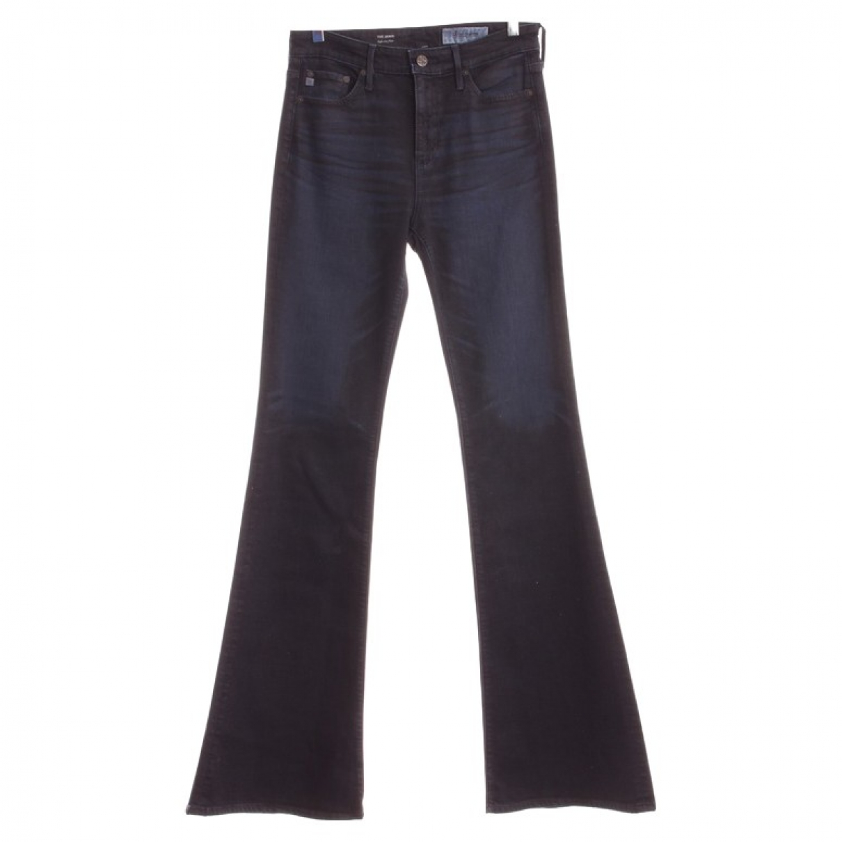 Ag Jeans \N Blue Cotton - elasthane Jeans for Women 27 US