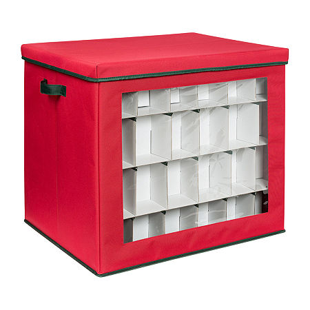 Honey-Can-Do Storage System, One Size , Red