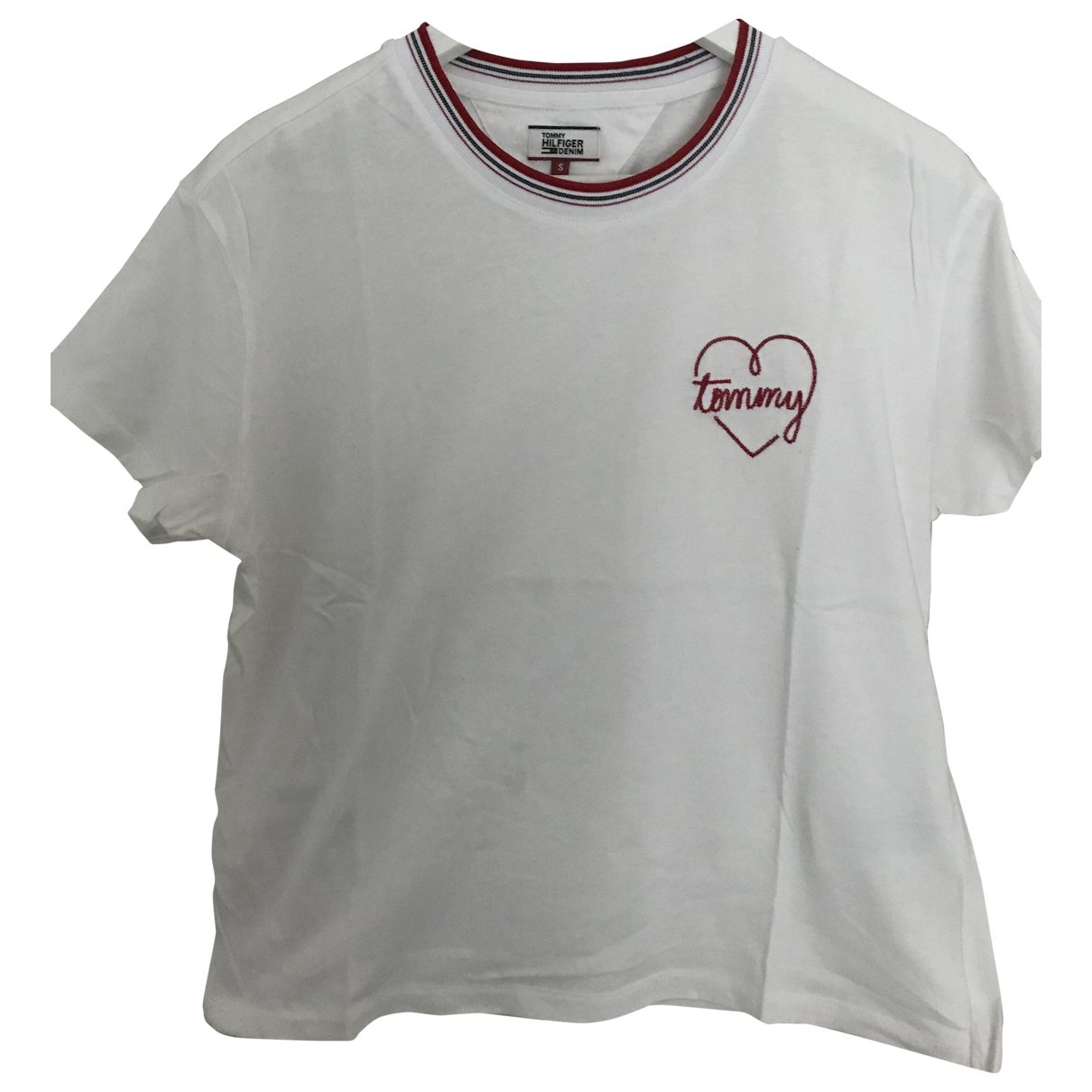 Tommy Hilfiger \N White Cotton  top for Women S International