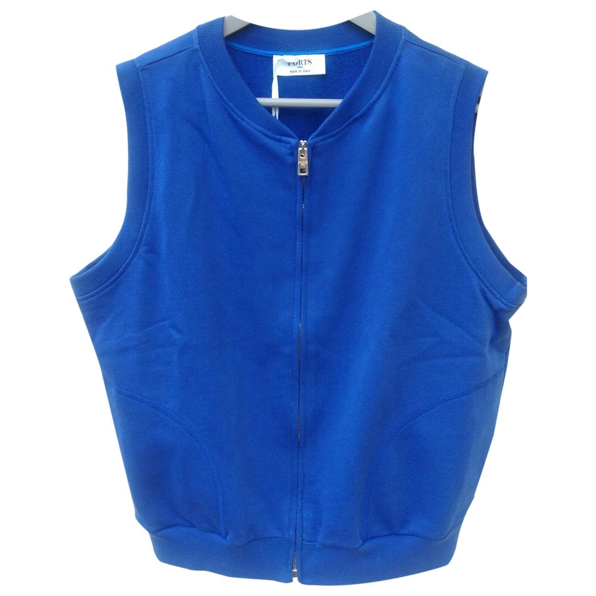 Ports 1961 \N Blue Cotton Knitwear for Women M International