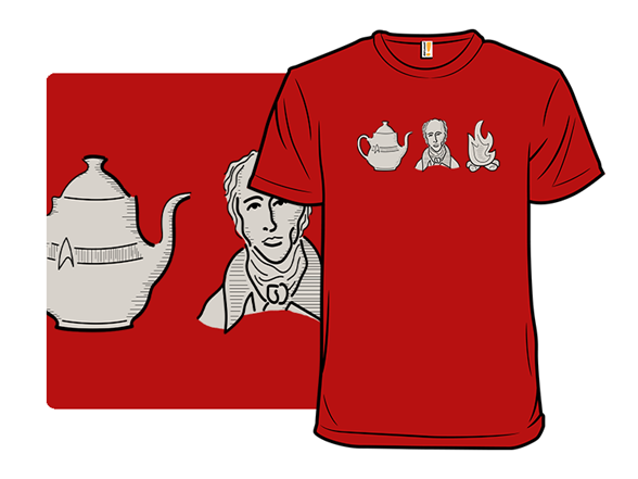 Earl Grey Tea T Shirt