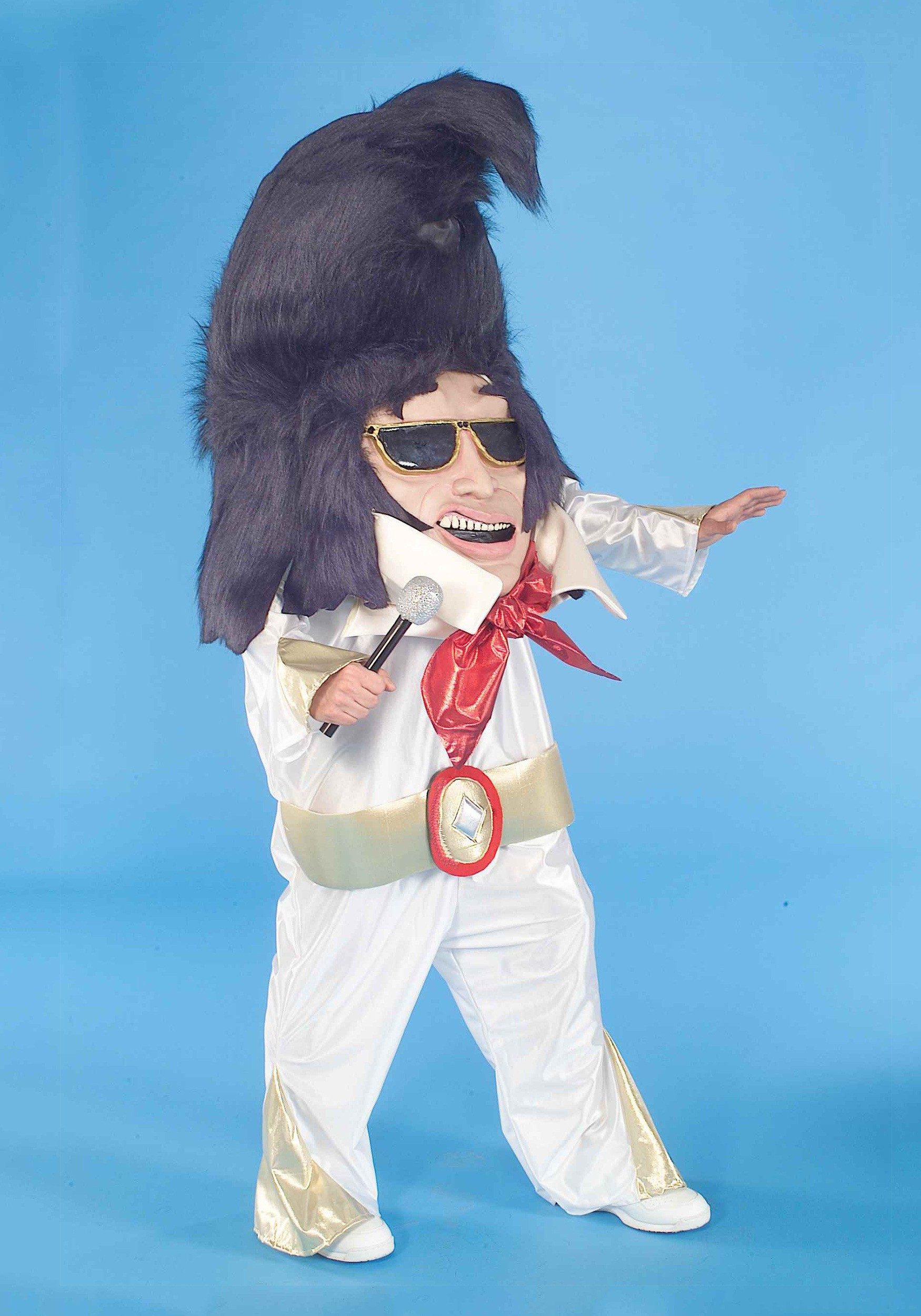 Adult Rock And Roll King Parade Mascot Costume