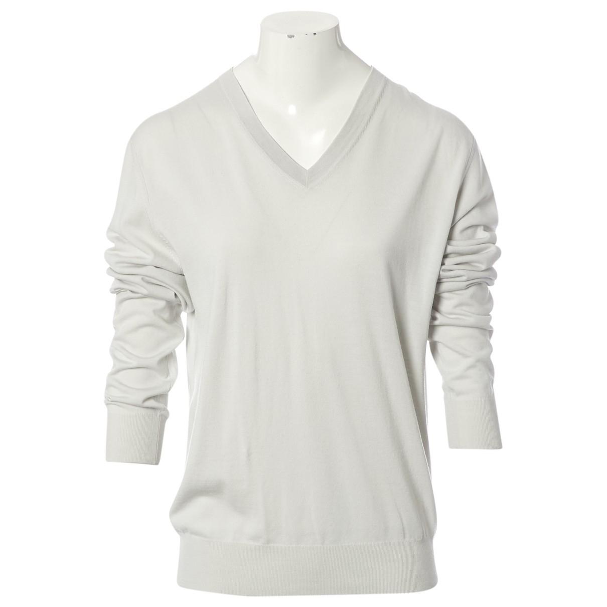 Hermès \N Grey Wool Knitwear for Women M International