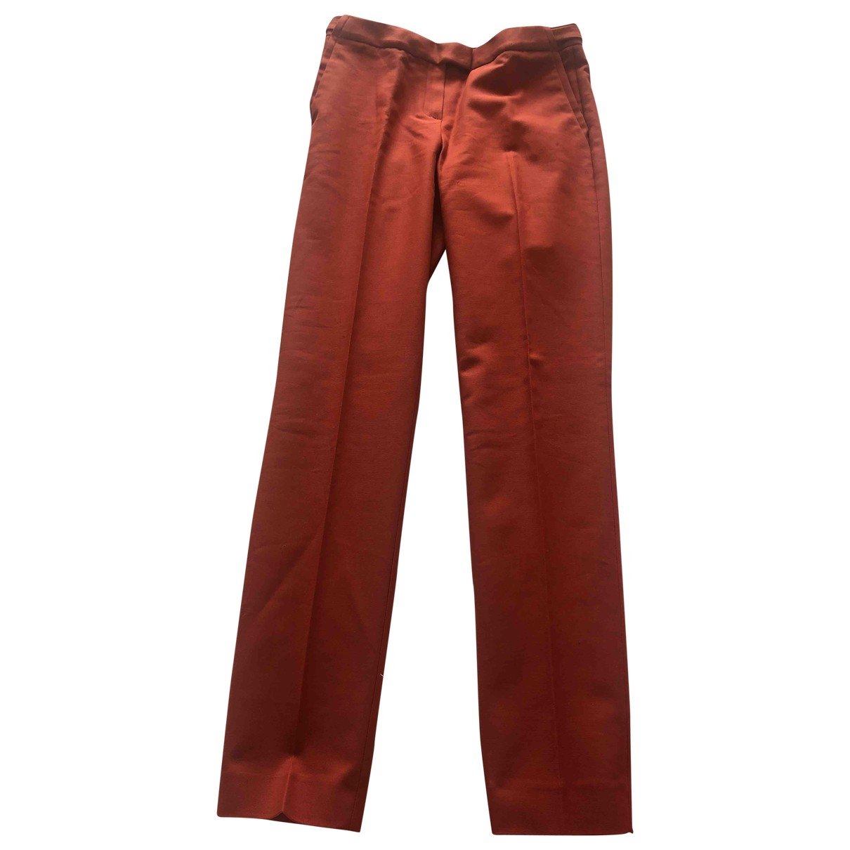 Massimo Dutti \N Cotton Trousers for Women 36 IT