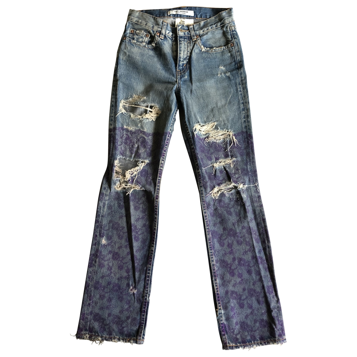 Junya Watanabe \N Blue Denim - Jeans Jeans for Women 28 US