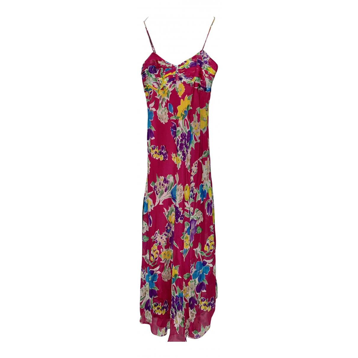 Polo Ralph Lauren \N Pink Silk dress for Women 2 US