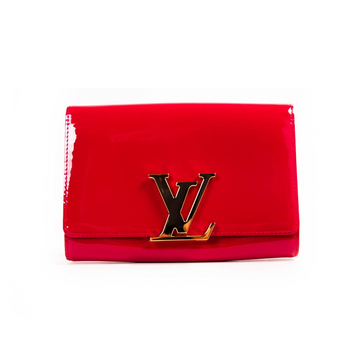 Louis Vuitton Louise Red Patent leather Clutch bag for Women \N
