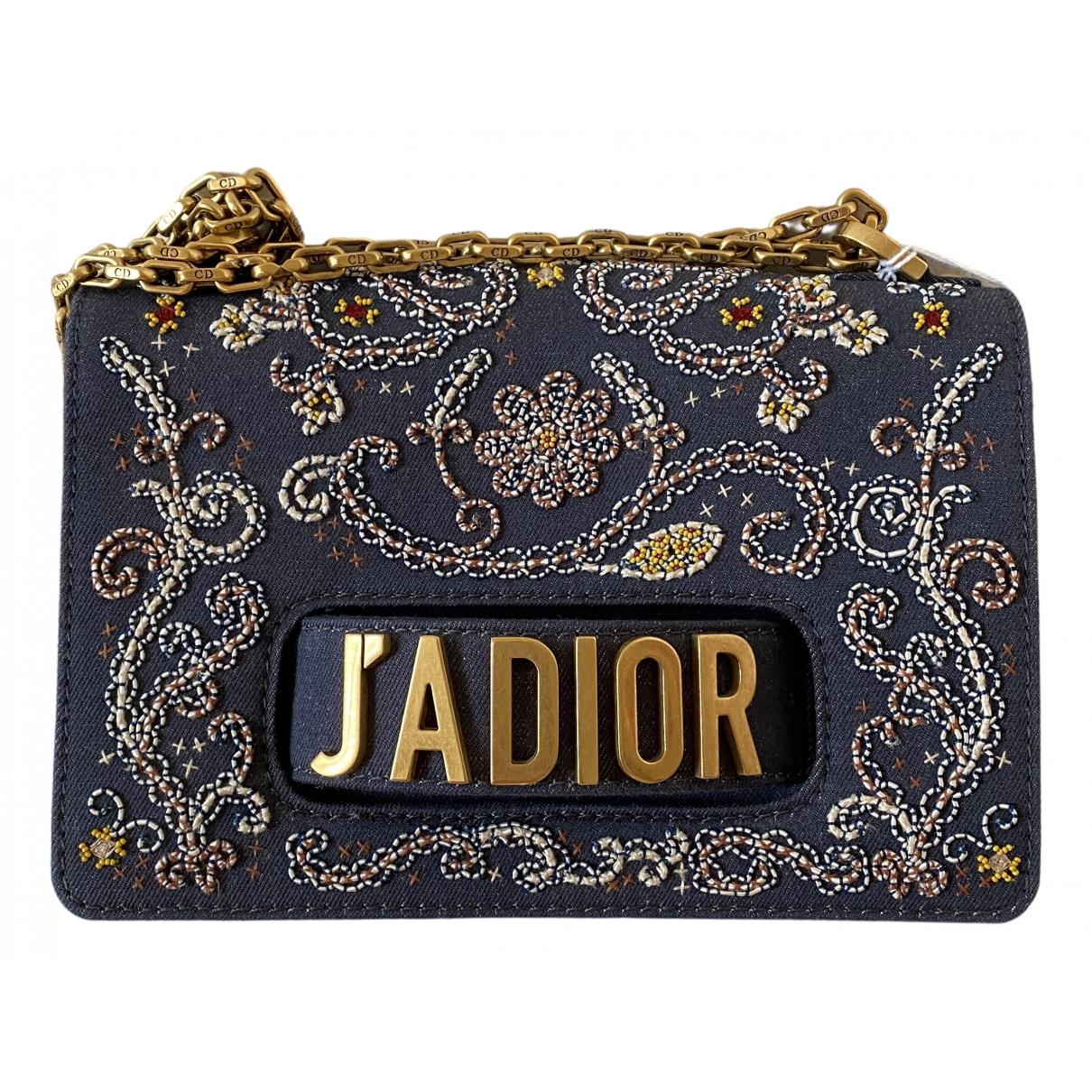 Dior Diorama Blue Denim - Jeans handbag for Women \N