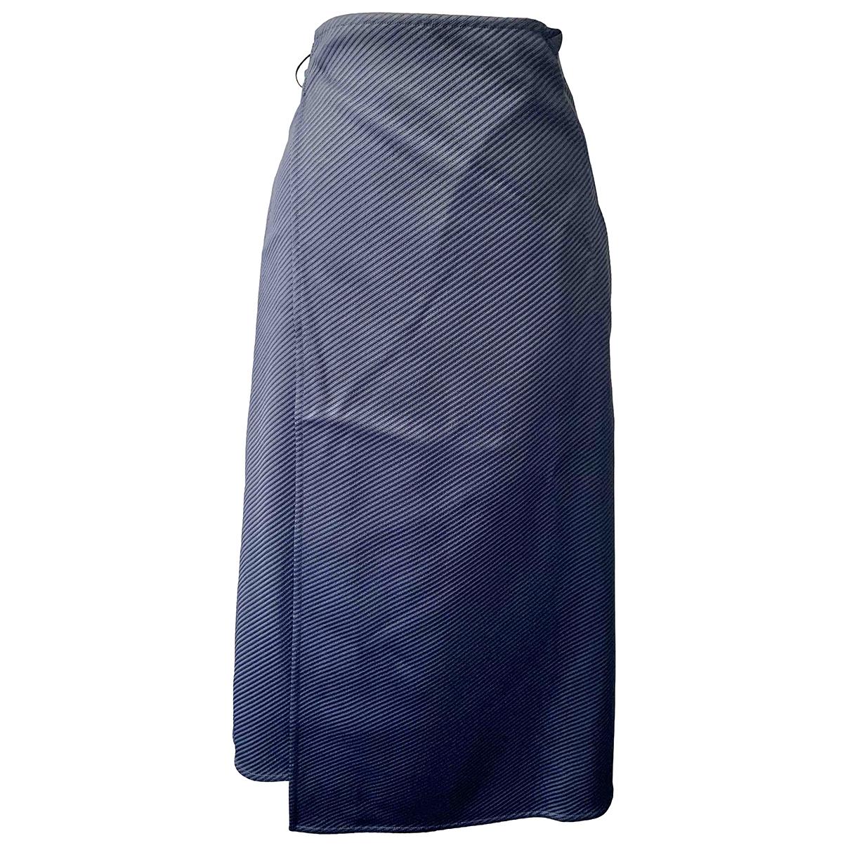 Celine \N Blue skirt for Women 34 FR