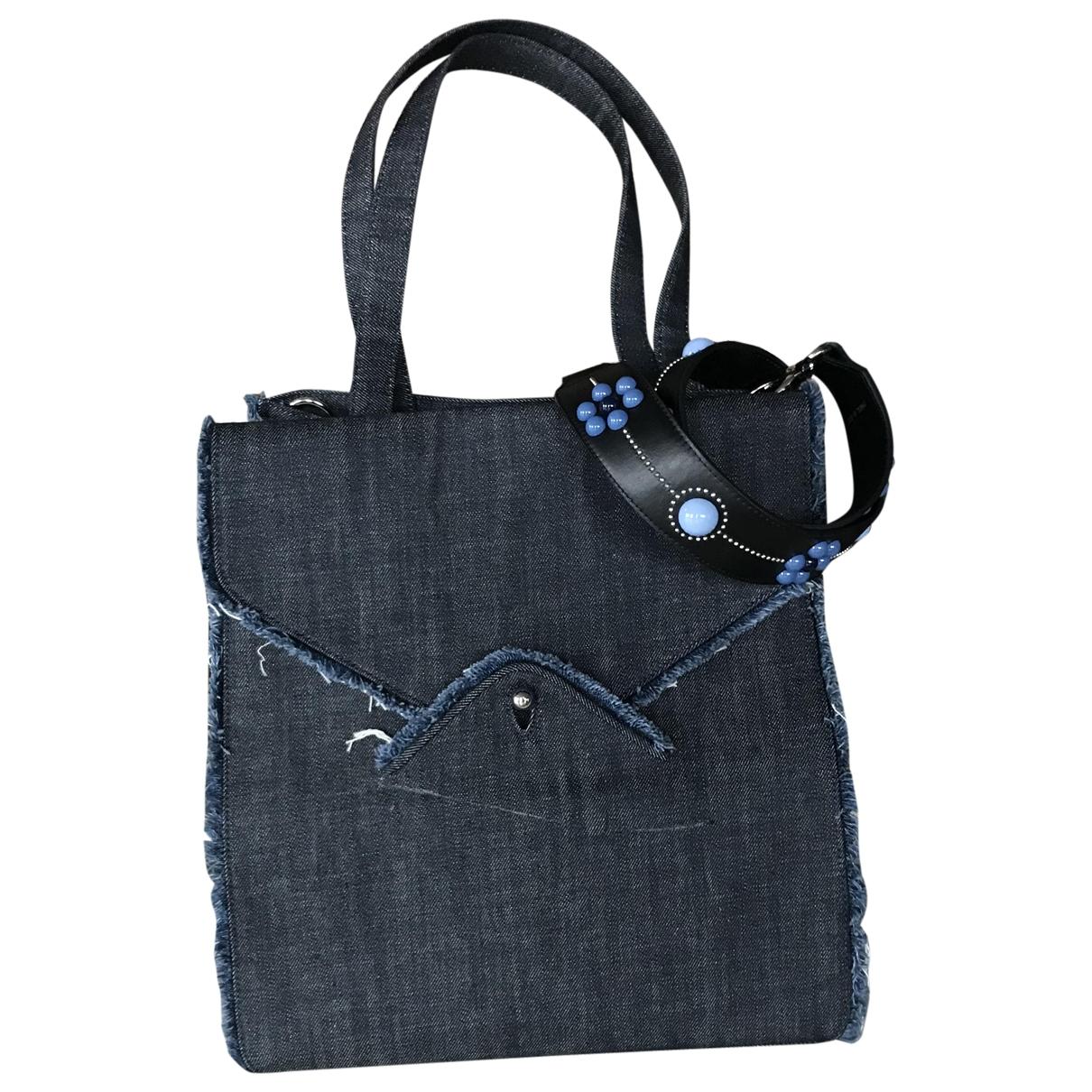 Paul & Joe \N Blue Denim - Jeans handbag for Women \N