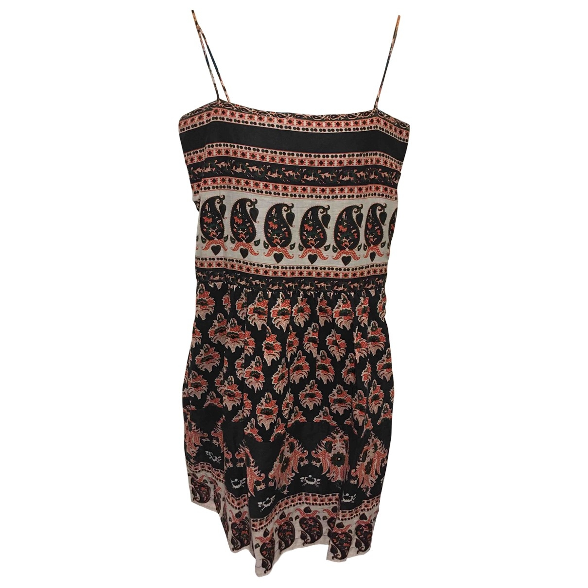 Petite Mendigote \N Black Cotton dress for Women 36 FR