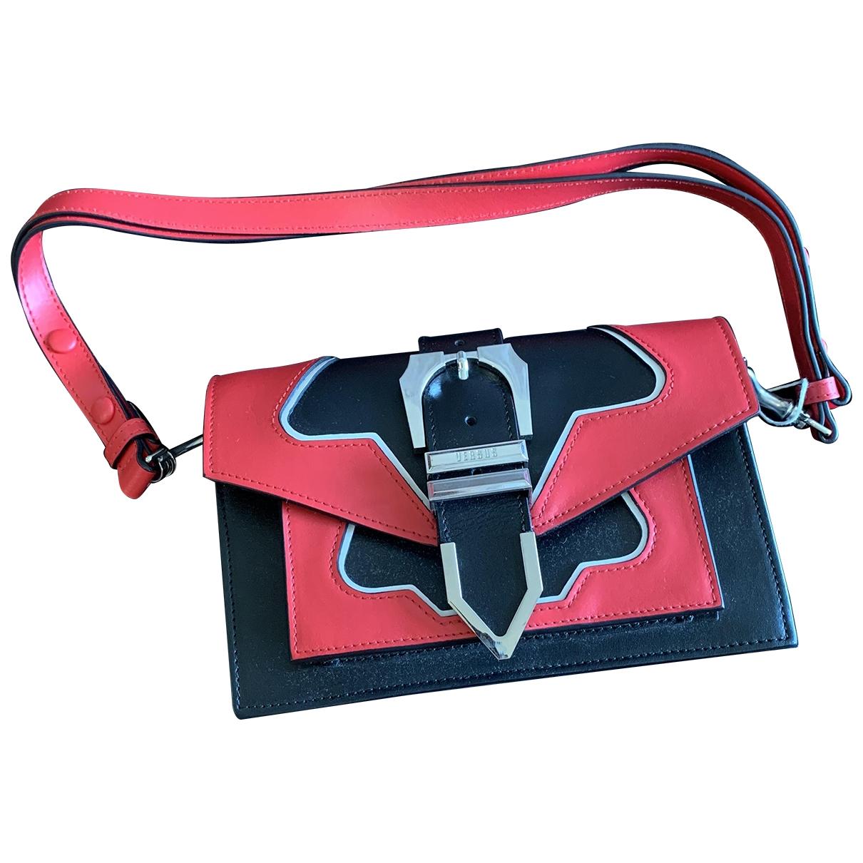 Versus \N Black Leather Clutch bag for Women \N