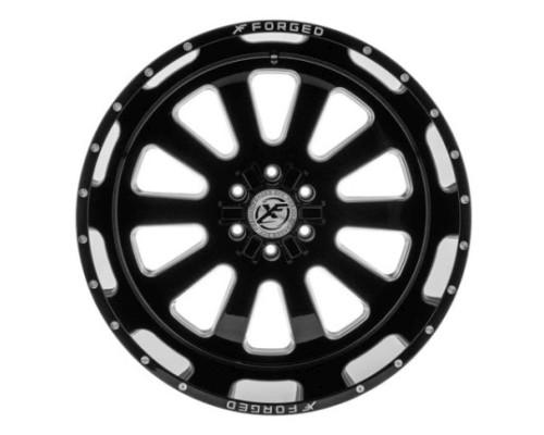 XF Off-Road XFX-302 Wheel 18x10 6x135|6x139.7 -12mm Black Milled Window