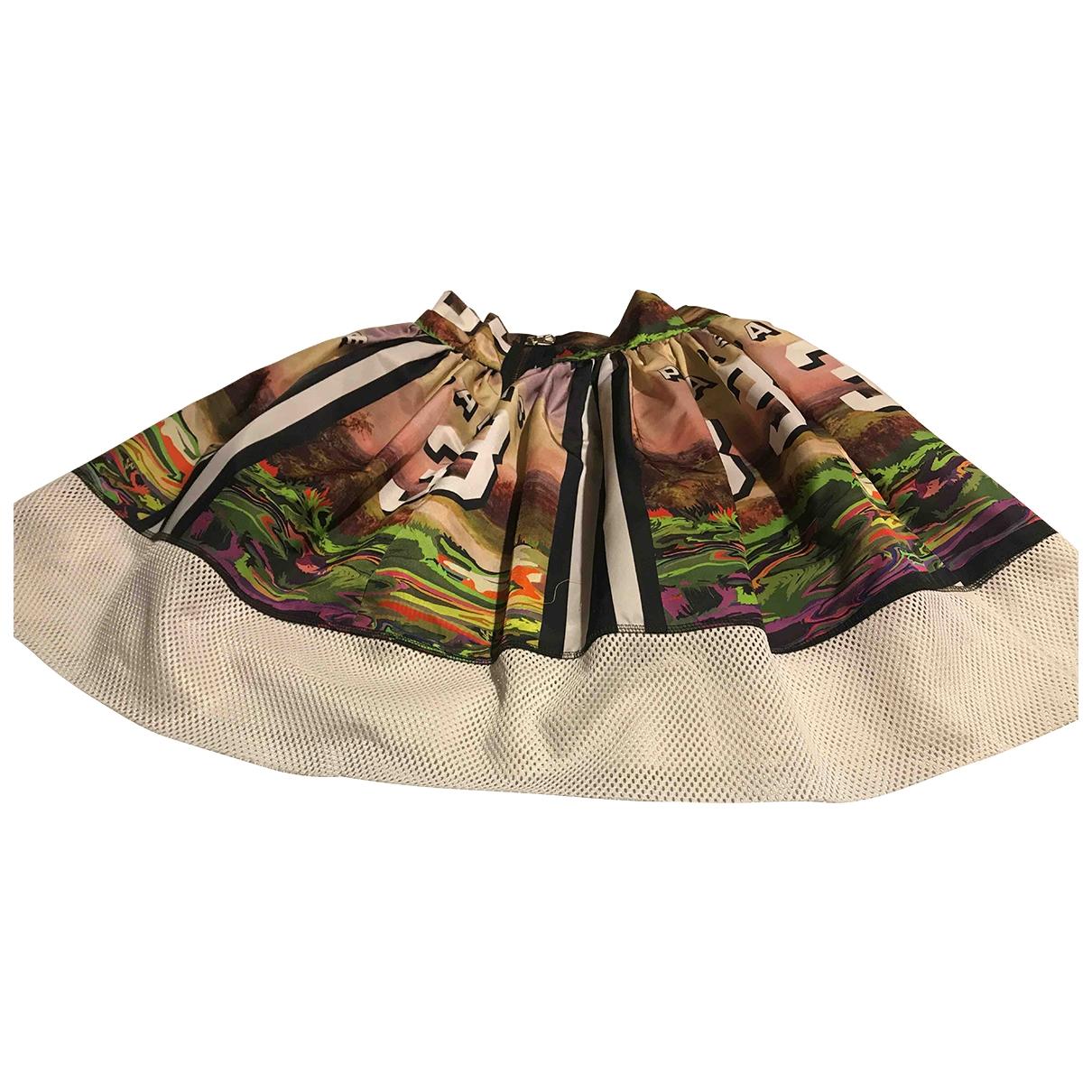 Leit Motiv \N Multicolour Cotton - elasthane skirt for Women 38 FR