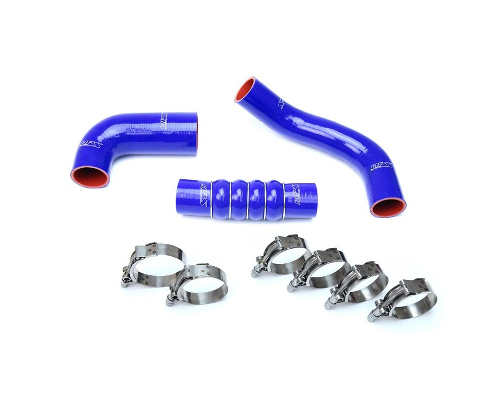 HPS Blue Reinforced Silicone Intercooler Hose Kit for Honda 16-19 Civic 1.5L Turbo