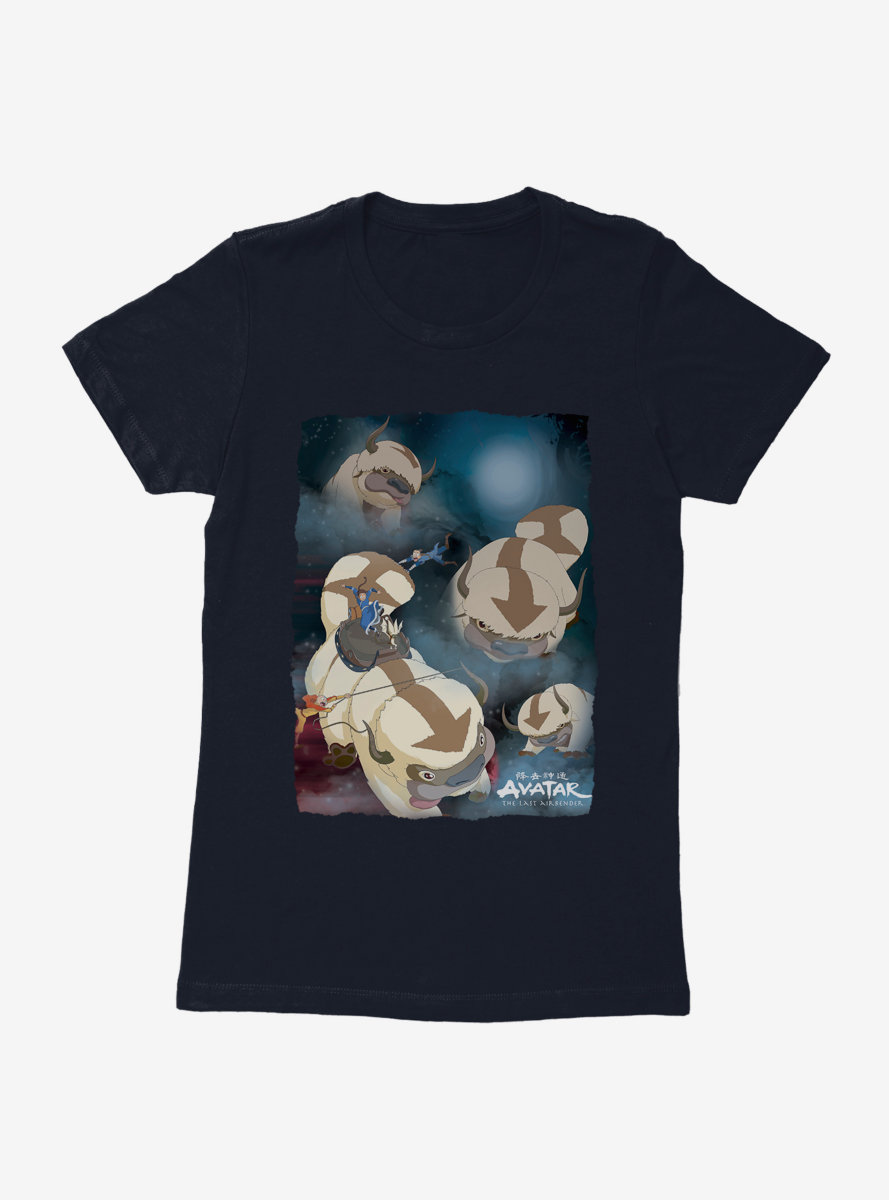Avatar: The Last Airbender Appa Yip Yip Womens T-Shirt