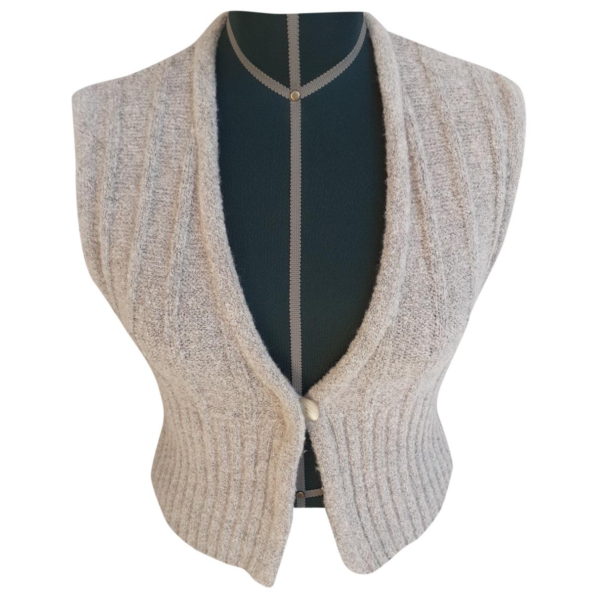 Emporio Armani \N Grey Wool Knitwear for Women 42 IT