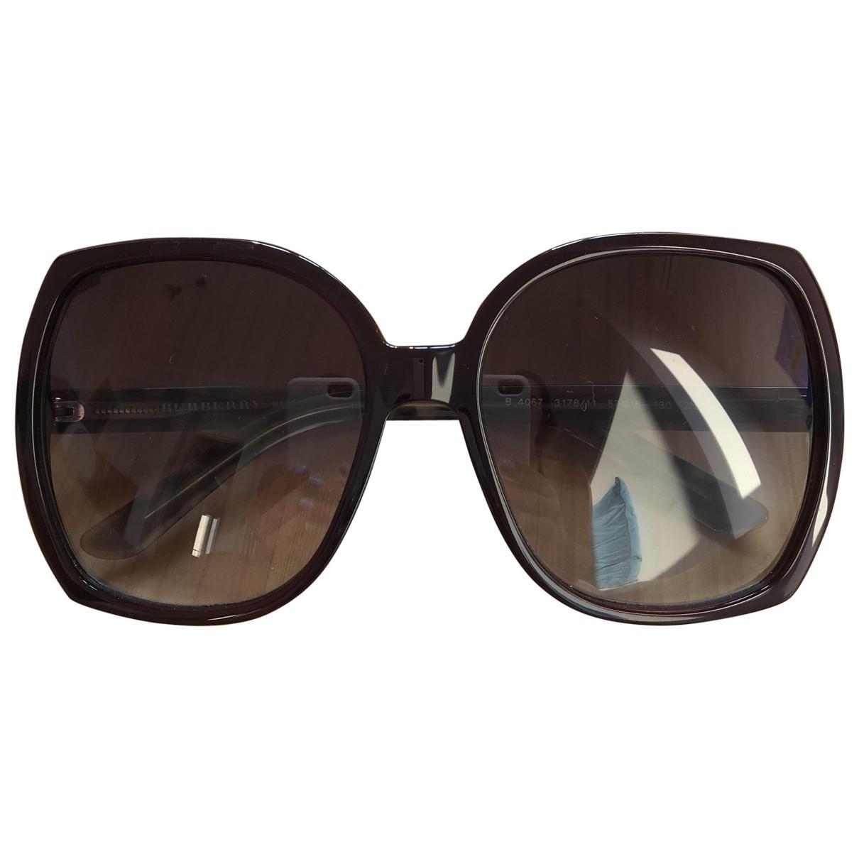 Burberry \N Burgundy Sunglasses for Women \N