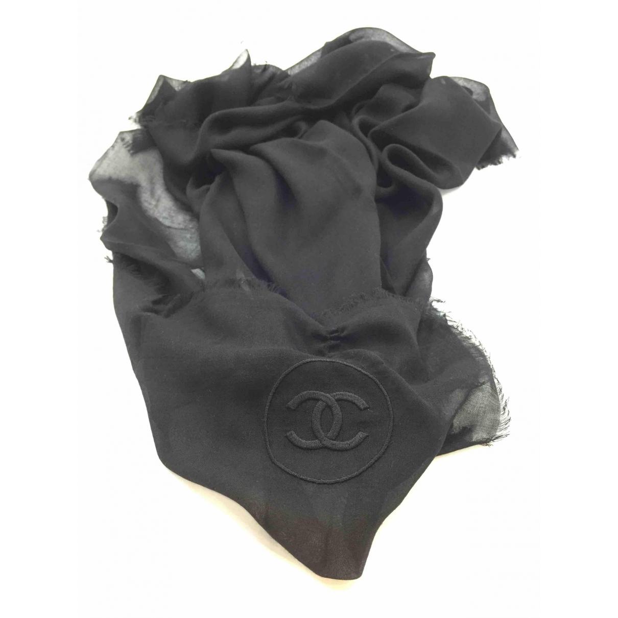 Chanel \N Black scarf for Women \N