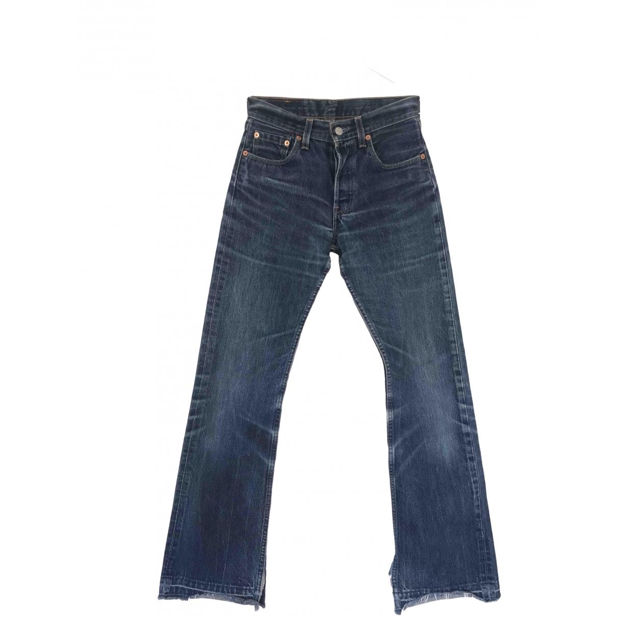 Levi's Vintage Clothing \N Blue Denim - Jeans Jeans for Women 34 FR