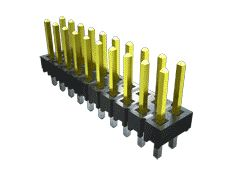 Samtec , TSW, 6 Way, 1 Row, Right Angle Pin Header (10)
