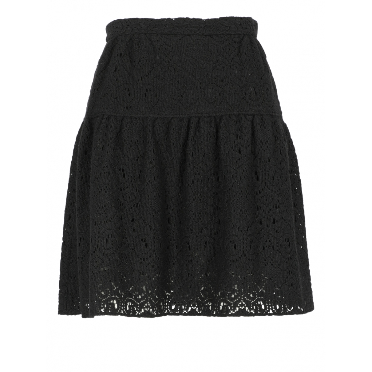 Dolce & Gabbana \N Black Wool skirt for Women 40 IT