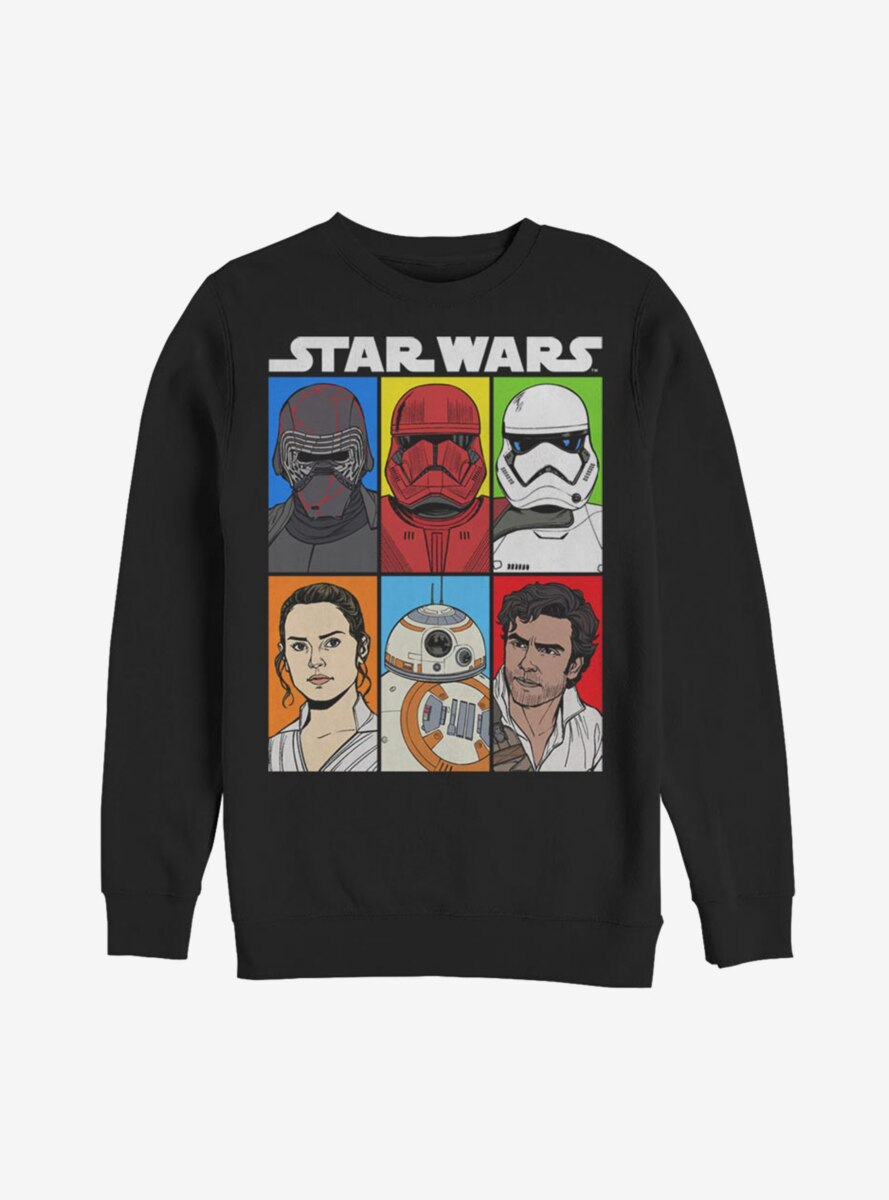 Star Wars Episode IX The Rise Of Skywalker Friends And Foes Sweatshirt