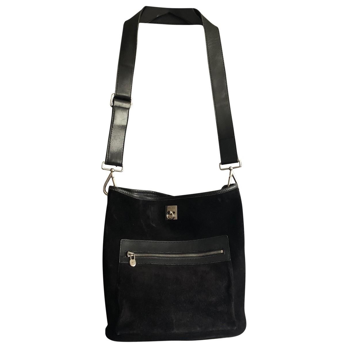 Celine \N Black Suede handbag for Women \N