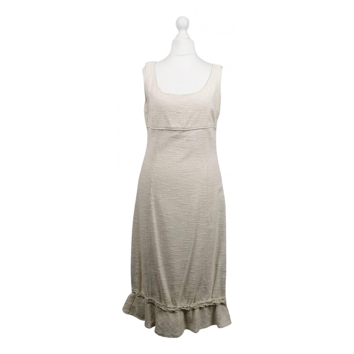 Max & Co \N Beige Cotton dress for Women 42 IT