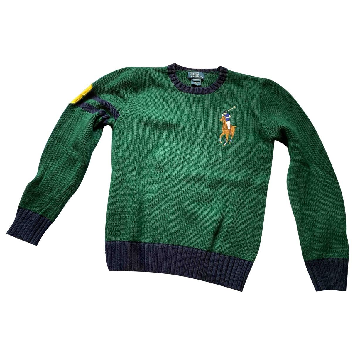 Polo Ralph Lauren \N Green Cotton Knitwear for Kids 12 years - XS FR