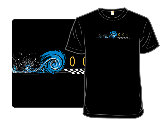 Victorious Hedgehog T Shirt