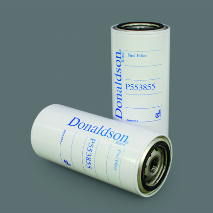 Donaldson P553855 - Fuel Filter, Spin On Secondary