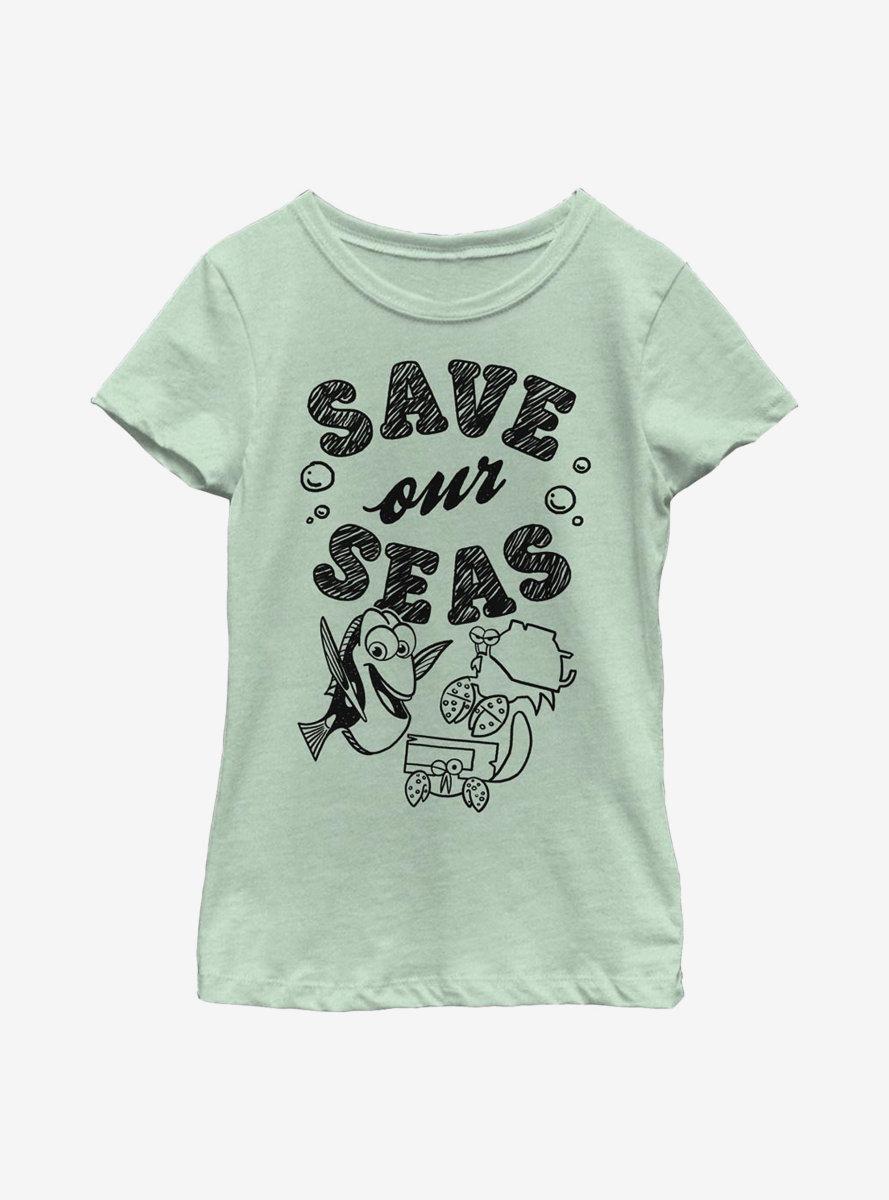 Disney Pixar Finding Dory Eco Dory Youth Girls T-Shirt