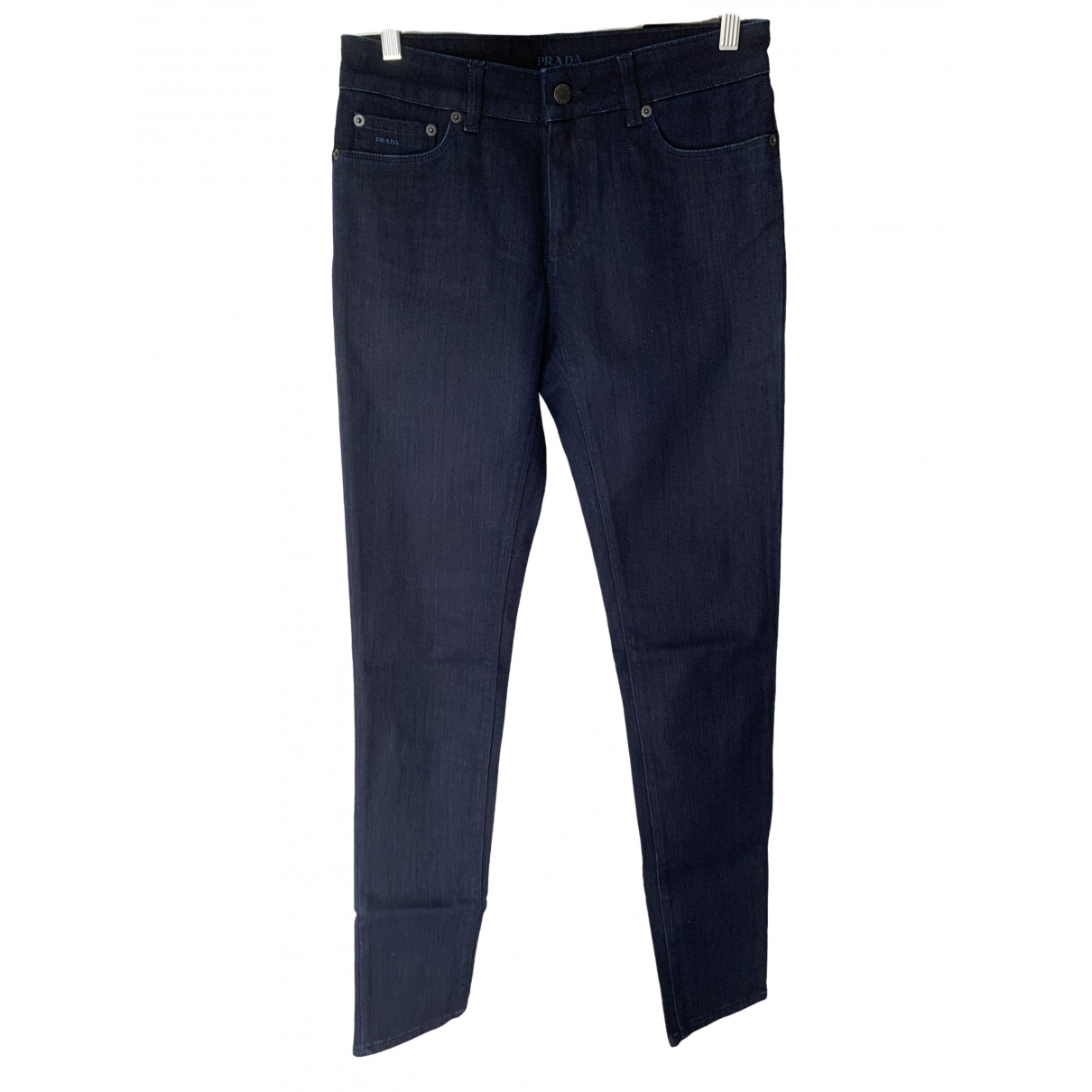 Prada \N Blue Cotton Jeans for Women 27 US