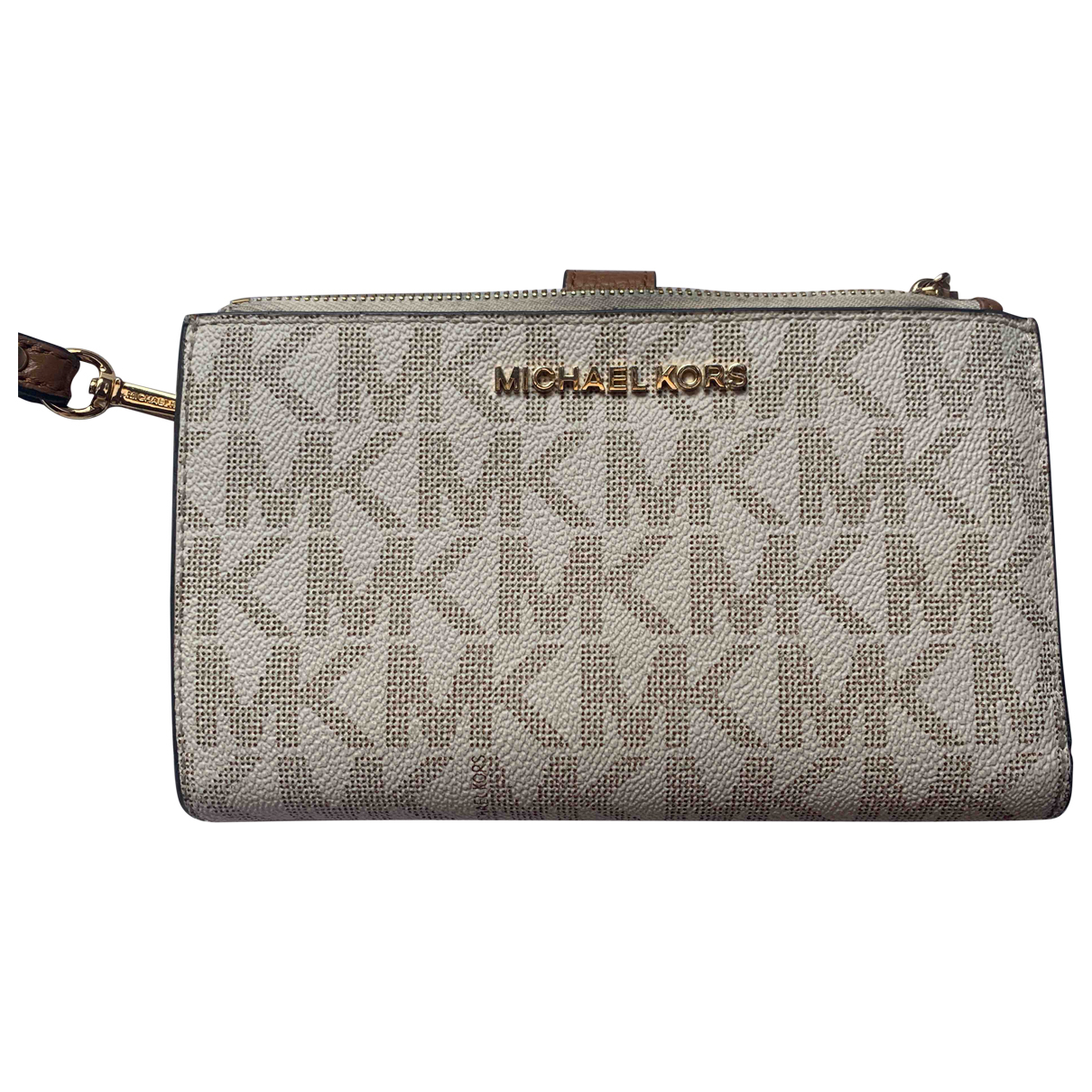Michael Kors \N Beige Patent leather wallet for Women \N