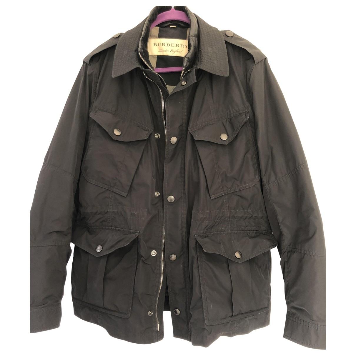 Burberry \N Black coat  for Men 52 IT