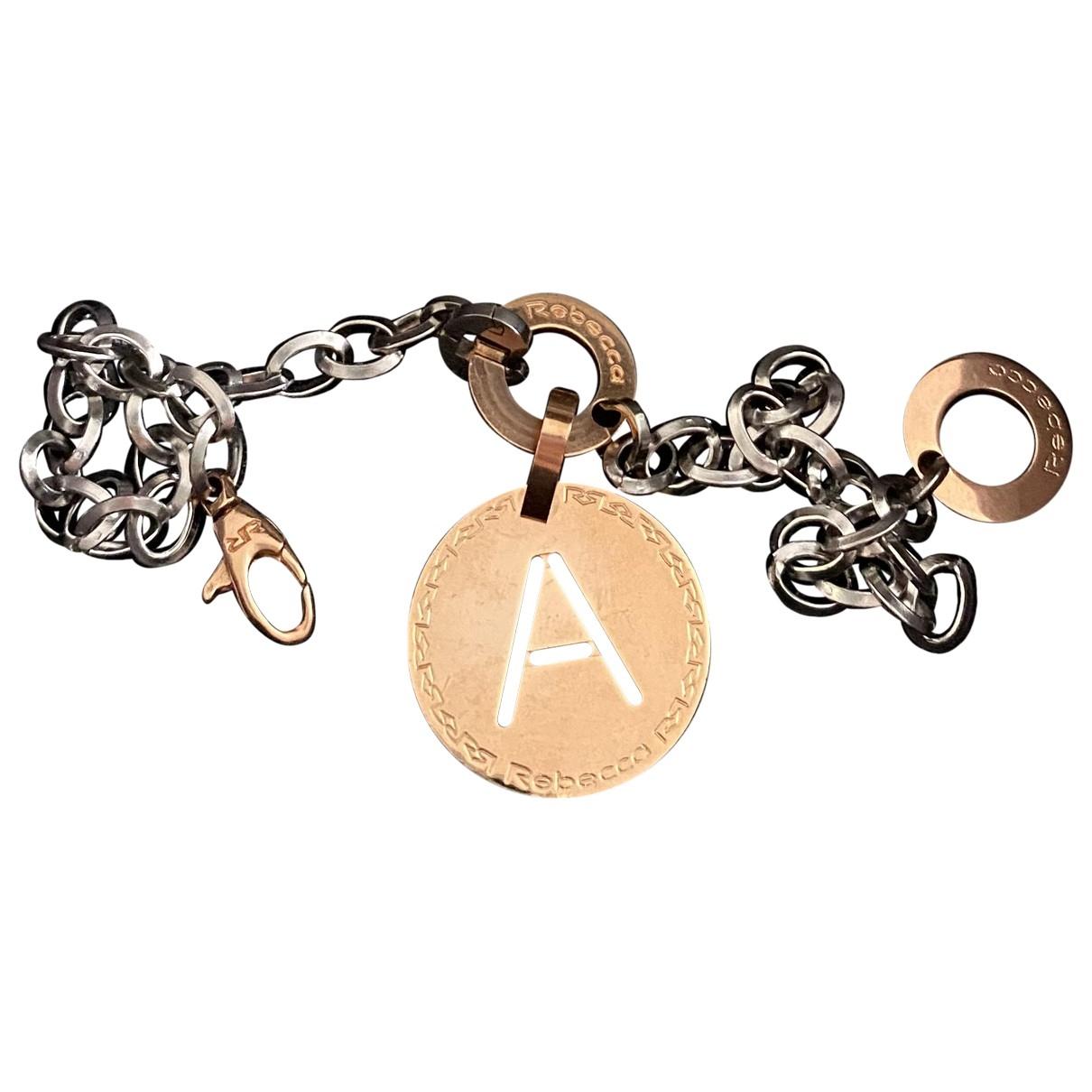 Rebecca \N Silver Steel bracelet for Women \N
