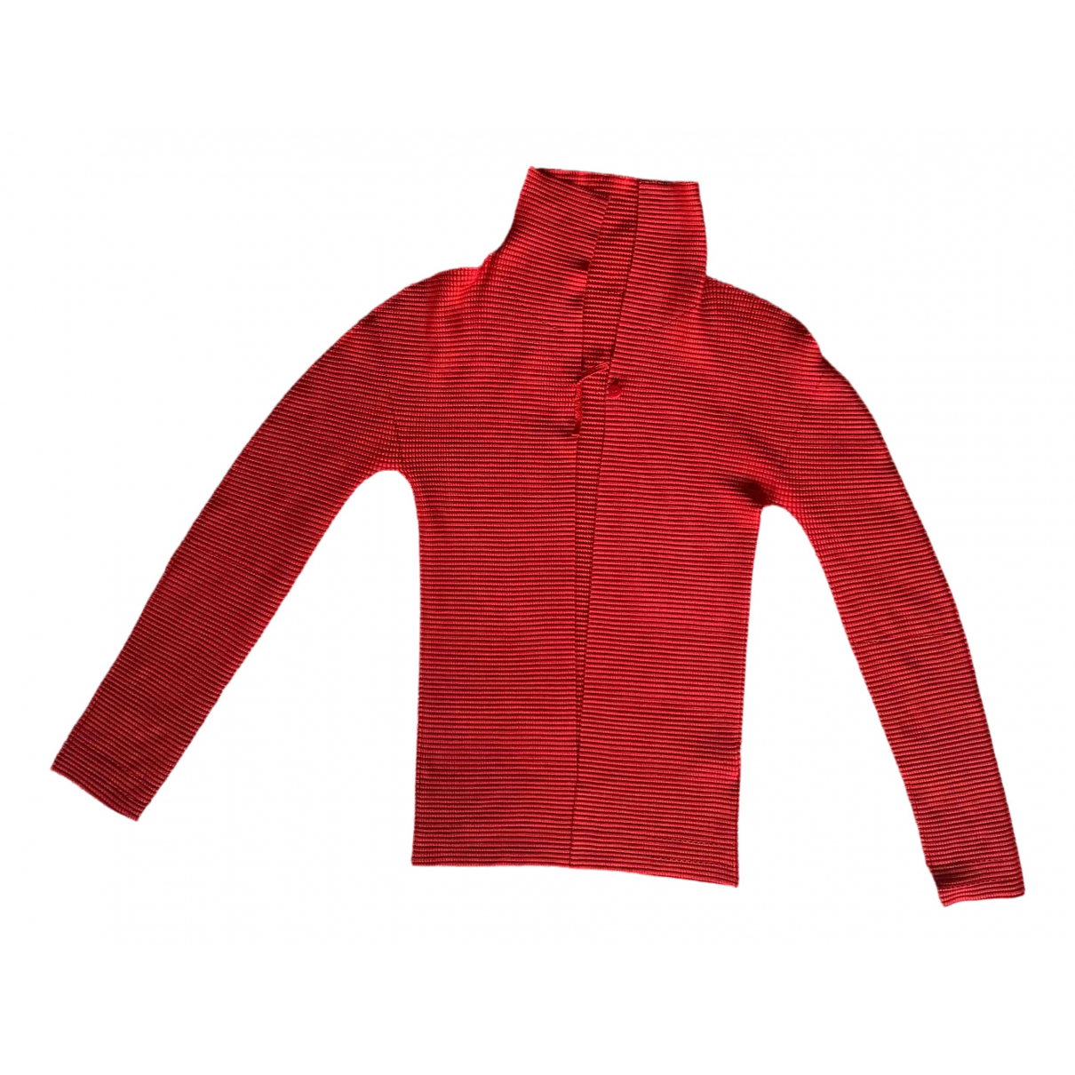 Non Signé / Unsigned \N Red  top for Women One Size 0-5