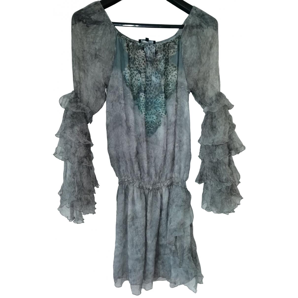 Patrizia Pepe \N Multicolour Silk dress for Women 42 IT