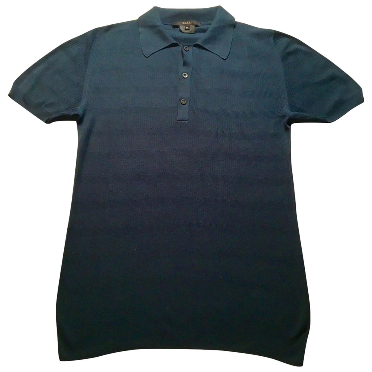 Gucci \N Green Cotton Polo shirts for Men M International