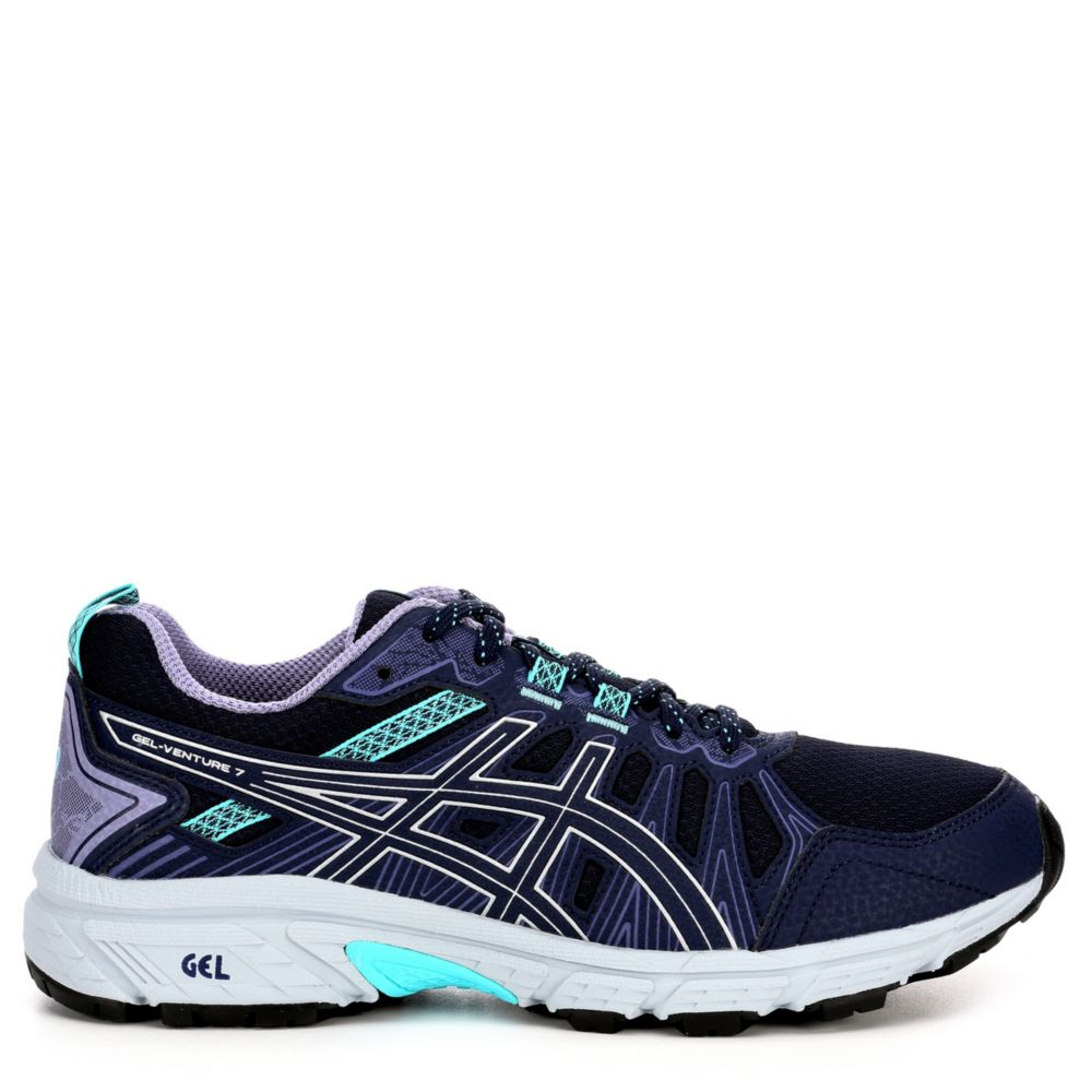 Asics Womens Venture 7 Running Shoes Sneakers