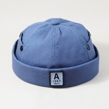 Men Letter Patch Landlord Hat